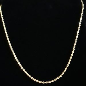 """Other - 22"""" Gold Rope Chain"""